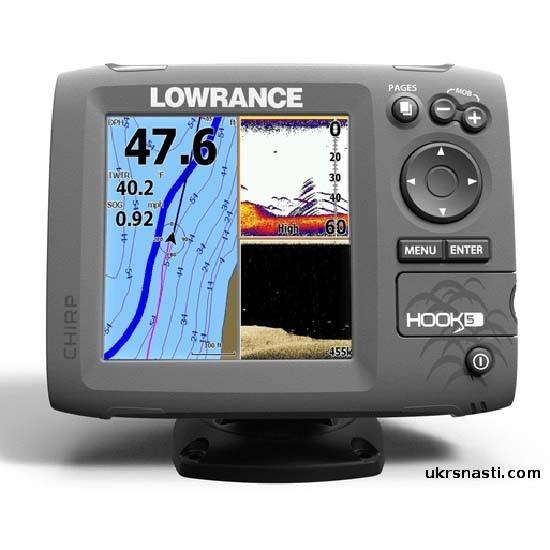 характеристики эхолота lowrance hook 5